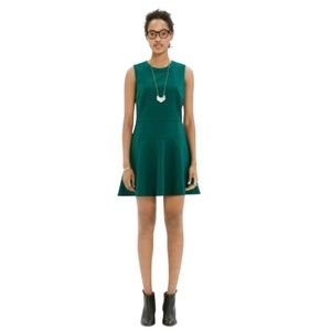 Madewell Anywhere Fit & Flare Green Dress Size 2